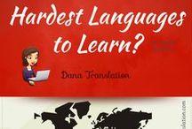 Language {Choosing a Language} / by Alicia Copeland