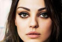 Round-shaped >> / Celebrity guide to round-shaped faces