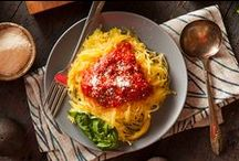 Pastaless Pasta / Spaghetti squash, eggplant lasagna…these swaps on traditional pasta & crusts are just as delicious with Ragú Sauce! / by Ragú Sauce