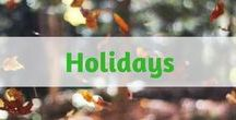 Holiday / Pinterest holiday decorating ideas - Holiday home decor ideas for every holiday of the year. Indoor and outdoor holiday decorating ideas. Fun holiday recipes for appetizers, meal time, and easy holiday desserts recipes. Diy holiday crafts for kids and adults.