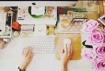 Workspace / by Ana Sofia Rodrigues