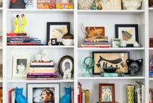 Shelf Styling / A collection of fabulously styled shelves and book cases