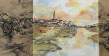 La Buhardilla de Anabel Lee / Decoración pictórica, Diseños, Mural y Retrato.