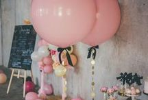 Baby shower + Childrens Birthday Inspiration! / We love baby showers and children's parties! This is our curated selection of inspiration. We are always happy to assist in custom invitations, announcements, and pillows as well. xx