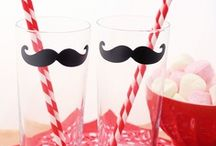 Moustache Ideas / by A Spoonful of Sugar