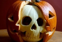 This is Hallowe'en / Pumpkins, witches, costumes, decorations and all kinds of Halloween fun.