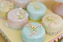 Recipes-Party Theme AFTERNOON TEA-Sweets / A collection of tarts, cakes and other desserts, to enjoy at tea time. / by Arlene Allen