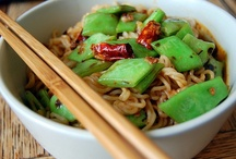 Asian/Indian noodles, curries, etc. / vegetarian and vegan / by Ivey Lynn