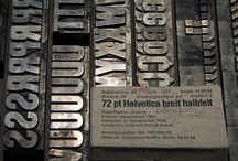 Design: Typography / #Typography #Helvetica #woodtype #Letterpress