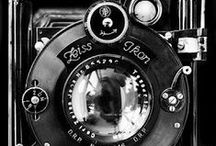 Photography: Vintage Cameras / Vintage Cameras are fun to look at and make great decorating accents as well. Check out Craig's list, you may find some amazing artifacts of photographic history.