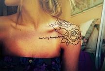tattoos / by SHEILA HERNANDEZ