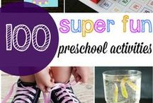 Preschool education / Learning about numeracy, alphabet, science, language, interactive play, gross motor skills and social interactions for preschool children. Learning through crafts, games, songs activities & more!