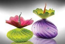 Art-Crafts MINERAL GLASS II / by Arlene Allen