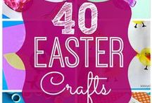 Easter Fun / Celebrating Easter with interactive crafts and activities. Easter egg decorating, Easter bunny crafts, Easter baskets, Easter treats & more!
