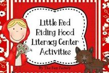 Little Red Riding Hood / Have fun teaching your little ones about math, reading, language and literature, art and music using the story of Little Red Riding Hood. Fun crafts, activities, games and printables.