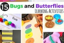 Insects / Crafts, printables, and activities to teach preschool and kindergarten children about insects!