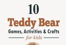 Where's My Teddy Book with Activities / Based on the Recommended Summer Reading List for Preschoolers and Kindergartners: http://bit.ly/1n4X2sv, Where's My Teddy book and these activities are a great way to get your child ready for kindergarten.