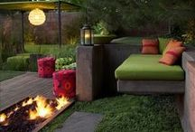Yard Ideas / Ideas for front and back yard makeover.  / by Trish Trash