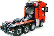 Lego Cranes & Trucks