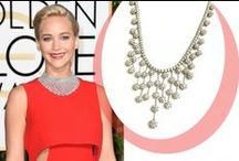Celebrities sparkling diamonds