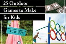 Outdoor Activities / Fun & interactive outdoor activities, crafts and games for children of all ages. Enjoy these activities year round!