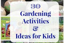 Gardening with Kids / Enjoy the outdoors with your children while teaching them the importance of healthy and sustainable food! Easy gardening projects to do with your children.