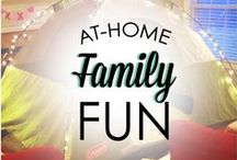 Family Game Night / Fun games and activities that the whole family will enjoy! Indoor and outdoor family fun!