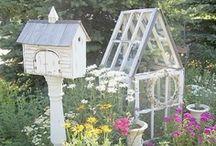 Le Jardin / Gardens, plants, flowers, vegetables, serenity.
