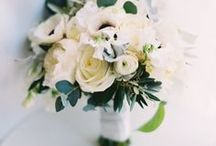 Beautiful Bouquets / Beautiful Organic Wedding bouquets with lots of greenery & textures are some of our favorite!