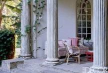 porch, veranda, loggia  / by Donna Brightman
