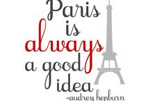 Je'taime Paris / My dream to go soon  / by Godessa Designs