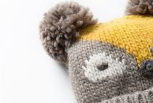 WINTER WONDERLAND ▲▲ / Crochet and knitted garments that are toasty warm and super cute.