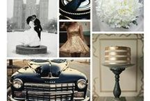 Inspiration Boards & Pretty Palettes / Inspiration or Mood boards for wedding ideas and color palettes