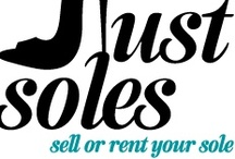 Just Soles / A place where you can buy, sell, and rent shoes. A place for shoe lovers! / by Just Soles