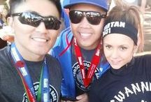 Celebrity Spartans / Some pictures of our Spartan Race celebrities!