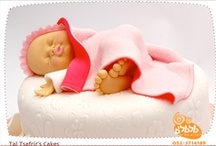 Cakes - Babies & baby shower / by Maya Bassan