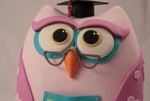 Cakes - Owls / by Maya Bassan