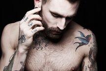 Beard Mustache and Tattoos   / by Nat Klunkaew