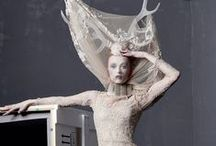 Haute Couture + Costume Design / Theatrical + avante garde -- contemporary + historic, only the magnificent.