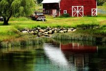 Old Country Barns / by ArtSea FartSea Me Hopkins