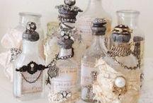 Decorative Jars / Altered jars. Repurposed jars.
