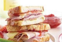 Hearty Sandwiches / These sandwich recipes are the greatest thing since sliced bread!