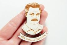 RON F'N SWANSON ▲▲ / If you don't know who Ron Swanson is, go home and sort your shit out.