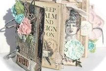 Gorgeous Prima / Beautiful inspiration from Prima Marketing. Paper crafts, scrapbooking, flowers.