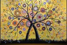 Trees On Canvas / by Laura Buxbaum Landry