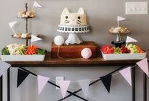PARTY   CATS ▲▲ / birthday party :: kid's party ideas :: party theme :: cat party