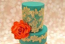 Cakes - Pastels & Bold colors / by Maya Bassan