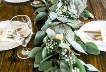Greenery Wedding / Greenery : Der Trend für die Hochzeitsdekoration: Alles Echt, Alles Natur & Viel Grün.