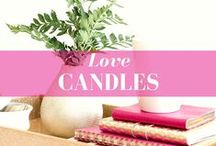 Candle Lover / Creative candle decorating ideas with candles and candle holders
