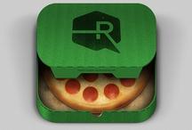 Mobile App Icons / by Adrien Susini